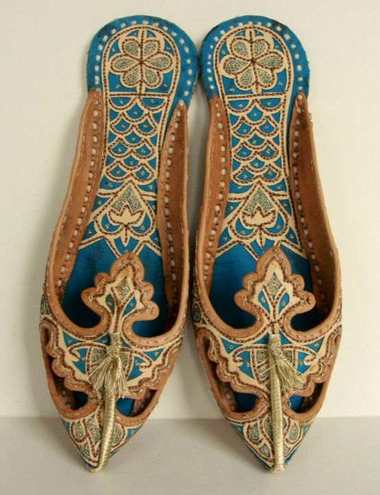 Arabian Shoes Arabian Dresses