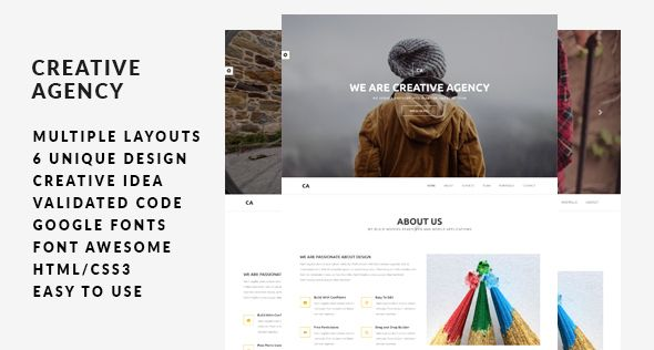Creative Agency   Multi-Concept HTML5 Template - http://obithemes.info/?digitalproduct=creative-agency-multi-concept-html5-template