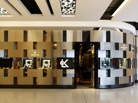 High end retail design: LK Jewellery Sydney and Melbourne stores completed by Woods Bagot