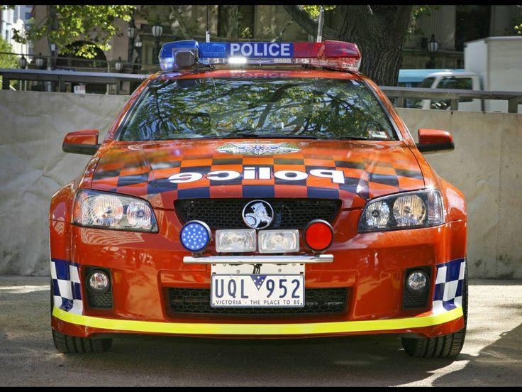 VE SS Commodore. Victoria Police.