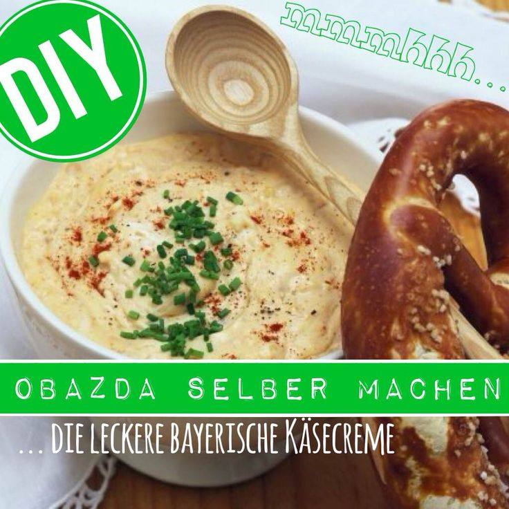 http://eatsmarter.de/ernaehrung/news/obazda-selber-machen #eatsmarter #rezept #rezepte #obazda #bayern #bayerisch #kaese #creme #brezel #brezn