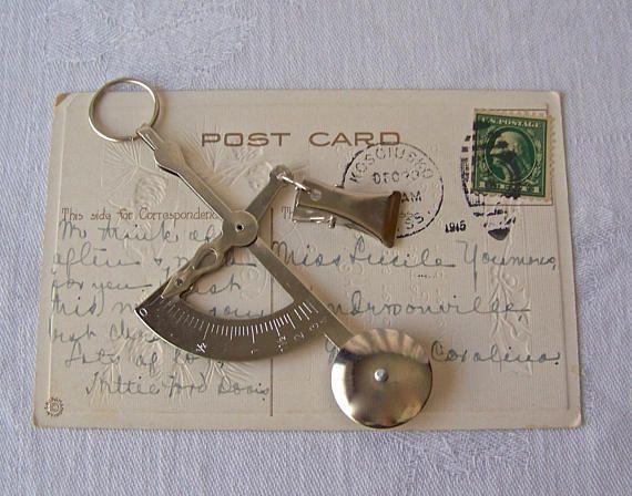 Vintage Postal Scale Handheld Balance Scale Postal Letter
