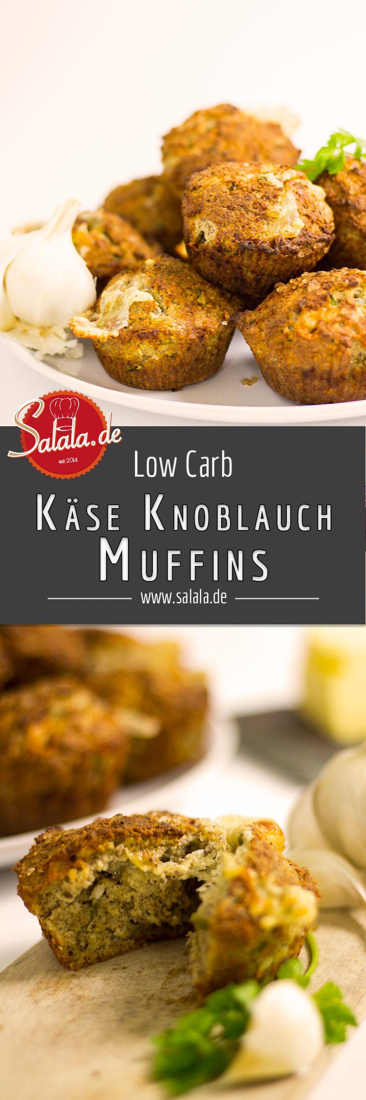 Käse Knoblauch Muffins klang für uns total lecker. Und da das original Rezept englisch war, dachten wir uns, wir entführen diese leckeren, herzhaften Low Carb Muffins nach Deutschland :).