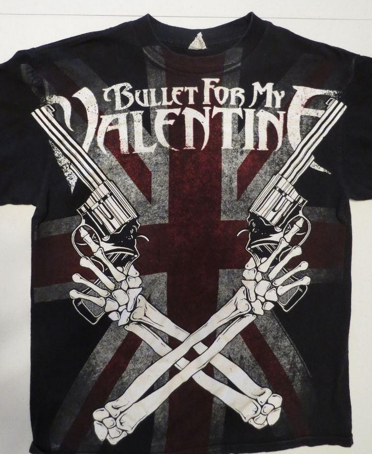 Bullet For My Valentine, Band T  Shirt   Medium