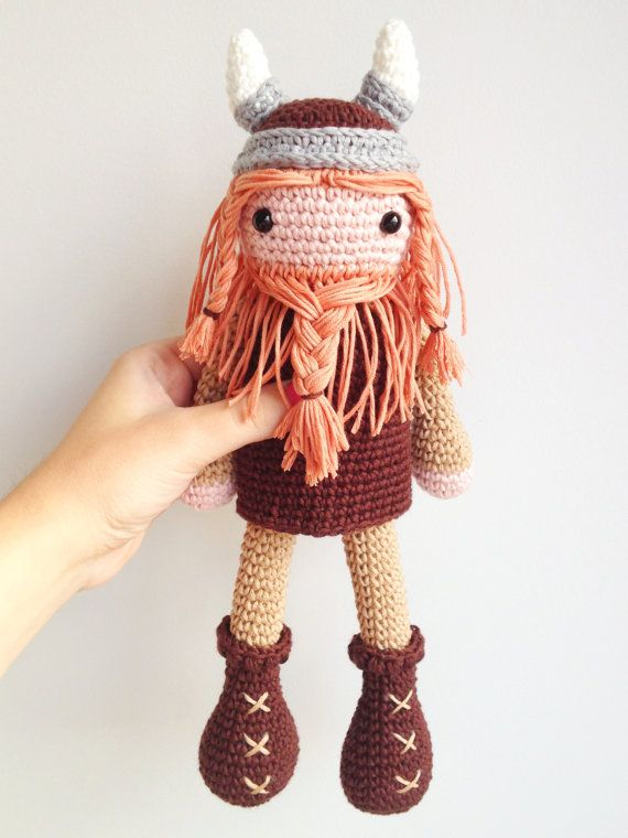 Viking Plush, Viking Soft Toy, Viking Stuffed Toy, Viking ...