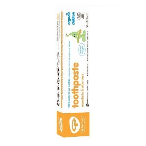 Pasta de dinti pentru copii cu mandarina organica 50ml