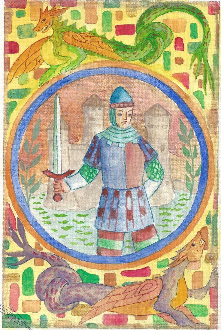 Le chevalier aux dragons