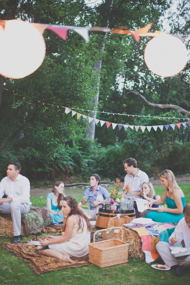 Picnic Wedding In South Africa: Steven U0026 Demi · Rock N Roll Bride