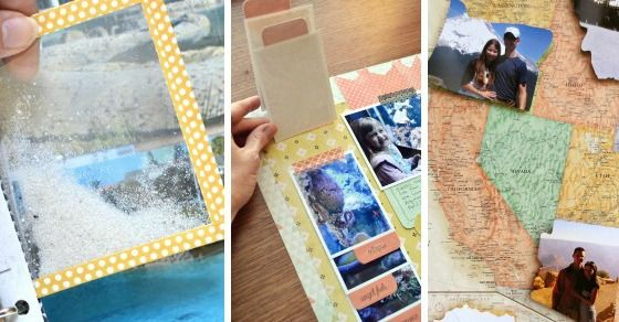 I love a good scrapbook or Smash Book. Here are a bunch of super cool scrapbooking ideas that you should definitely try to incorporate in your next project!