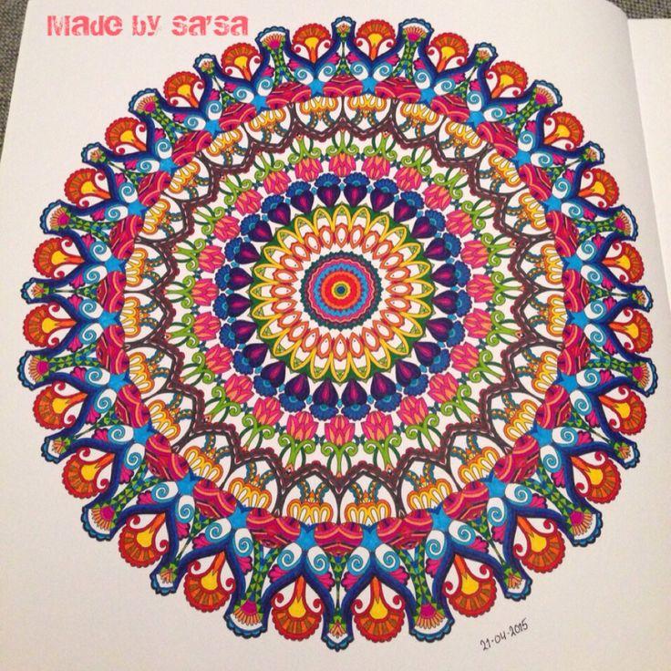 Het Enige Echte Mandala Kleurboek (deel 1) - Mandala nr. 1