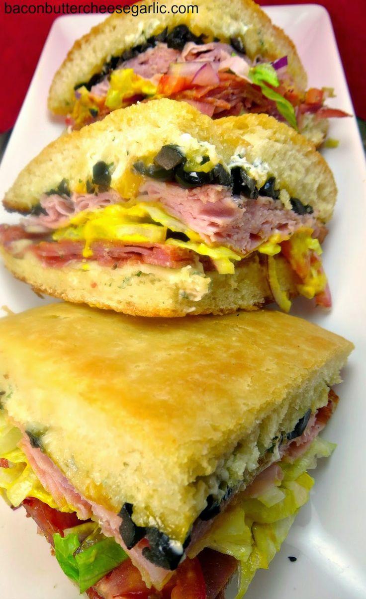 Copycat Schlotzsky's Original Sandwich. This was so good we ate it twice in one week!
