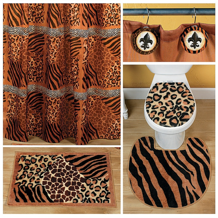 20 best images about Animal print bathroom on Pinterest ...