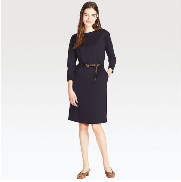 3/4 sleeve uniqlo dress