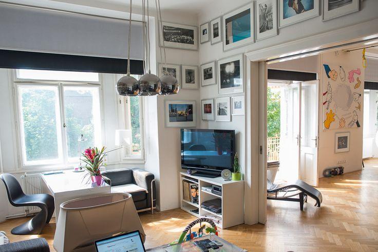 Letná apartment; parquet floor;