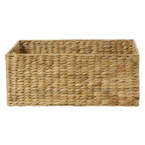 Water Hyacinth Basket Medium Natural