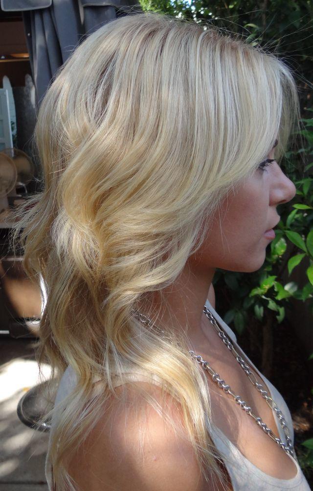 Light Blonde Hair Color Hair I Love Pinterest Light
