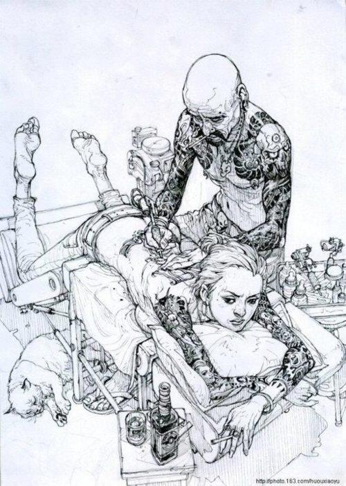 Kim Jung Gi - illustrator.