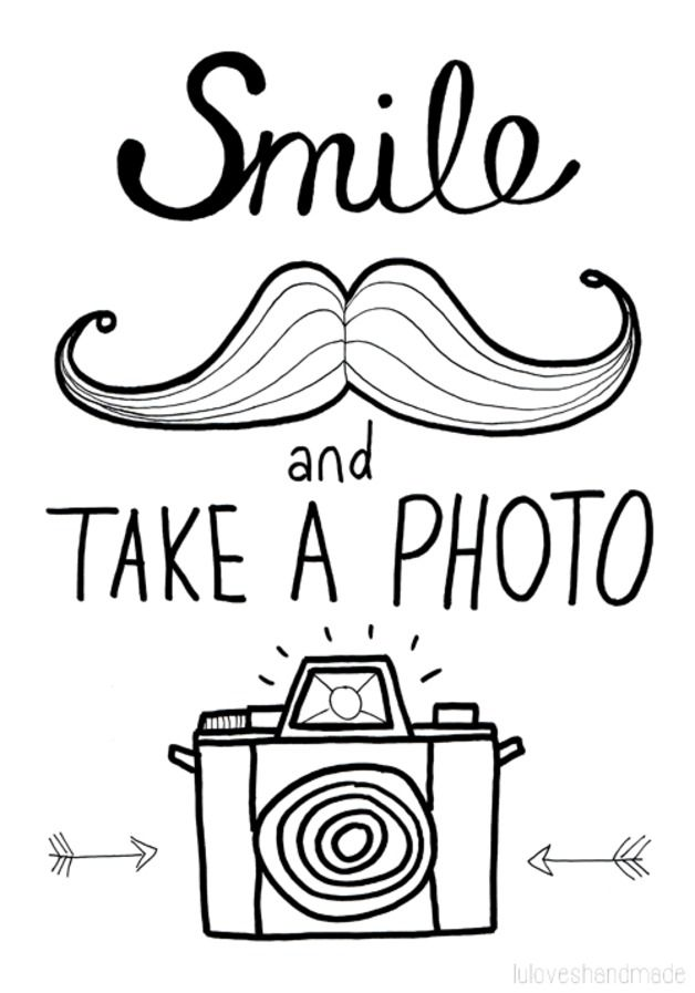 Tolles Schild für die Fotoecke auf Eurer Hochzeit / Photo Booth printable for your wedding made by luloveshandmade via DaWanda.com