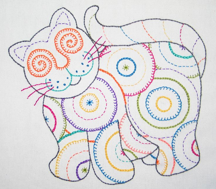 71 Best Easy Embroidery For Kids Images On Pinterest | Embroidery Embroidery Stitches And Basic ...