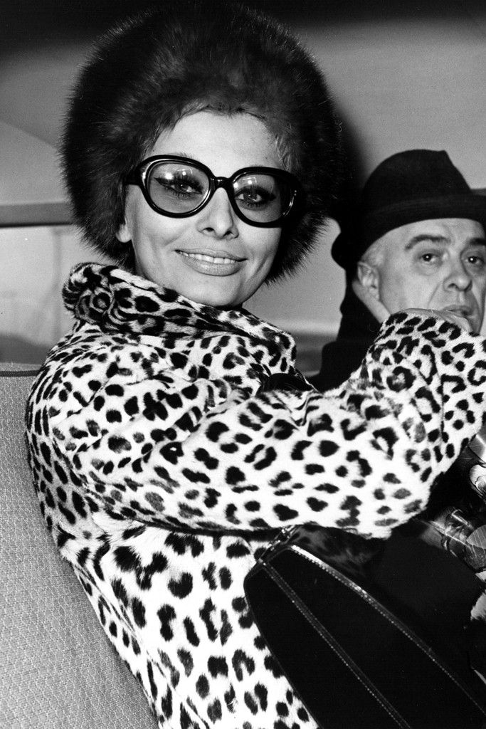 Spotted!: Leopard Print Through the Years - Sophia Loren and Carlo Ponti, 1966.