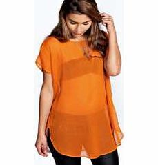 boohoo Kate Oversized Woven Tunic - orange azz26729 Make your top half a talking point in this sheer tunic . A statement separate for nights out, wear over a bandeau top with high rise wet look trousers and barely-there nude heels . http://www.comparestoreprices.co.uk/womens-clothes/boohoo-kate-oversized-woven-tunic--orange-azz26729.asp