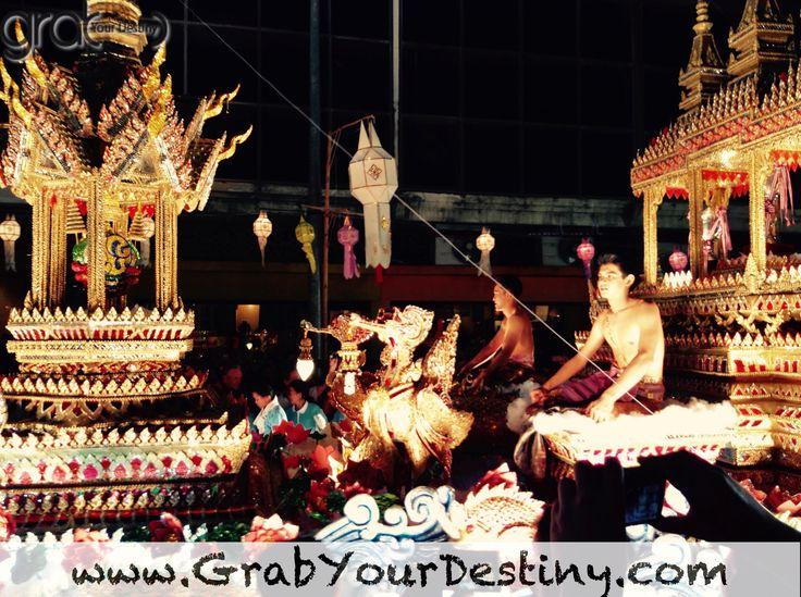 Chiang Mai Flower Festival Parade And Loi Krathong Lantern Festival… #ChiangMai #Travel #GrabYourDestiny #JasonAndMichelleRanaldi #Thailand #LoiKrathong #VisitThailand