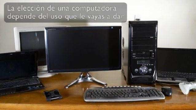 Como Comprar una Computadora. En general, una computadora de escritorio te ofrecerá mejor rendimiento que una portátil. Para mas sobre como comprar una computadora, mira este video gratis.