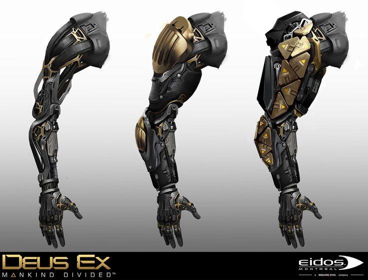 ArtStation - Deus Ex Mankind Divided - Shadow Operative, Bruno Gauthier Leblanc