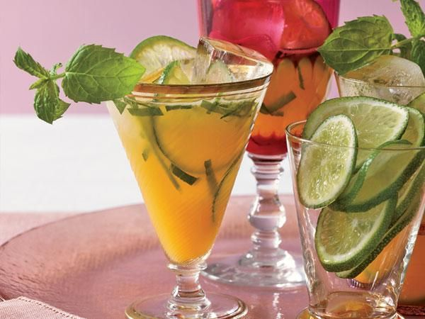 Mango-Mint Virgin Mojitos - 35 mg of Sodium per serving.