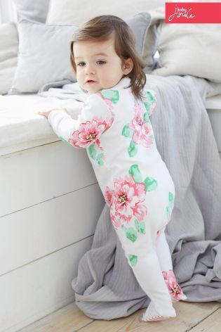Update your tiny tots wardrobe this season with pretty florals from Joules!