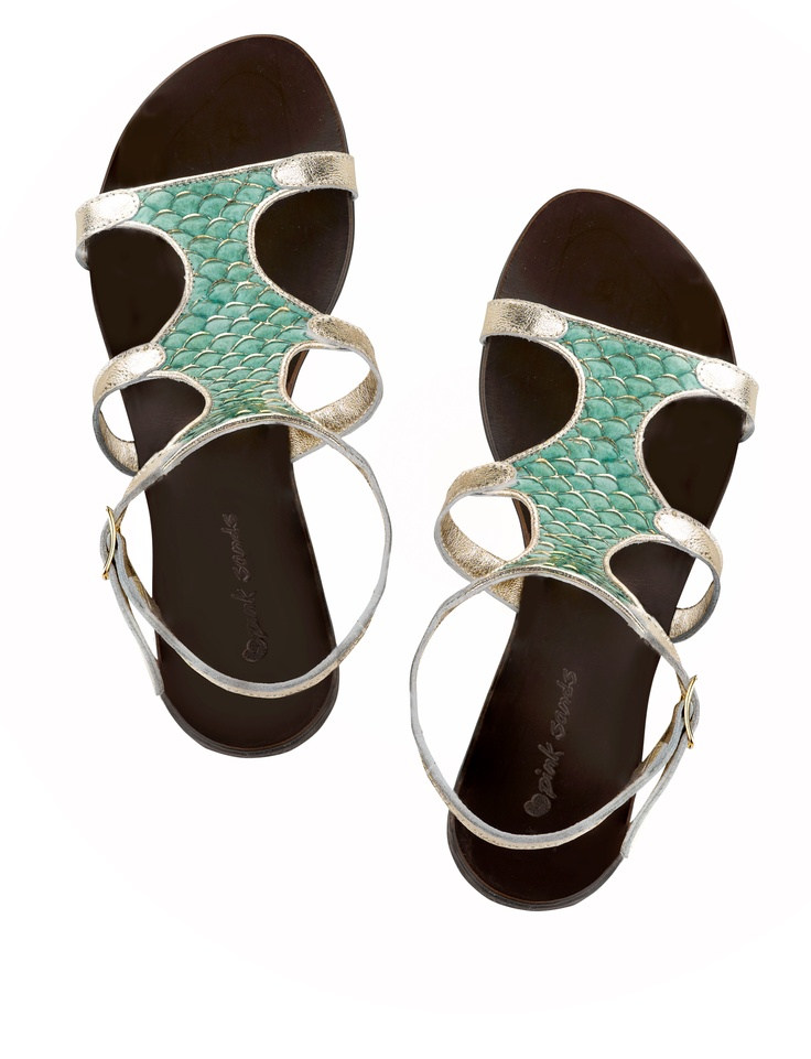#sandals made of fish leather (tilapia) | Design by  S. Frangista