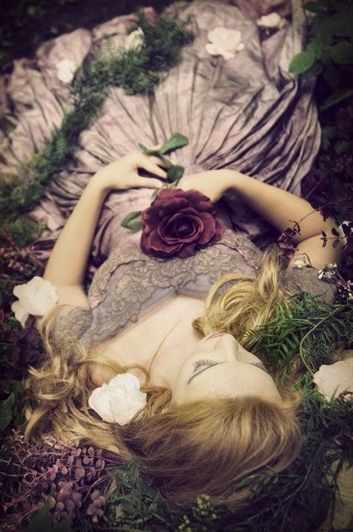 Inspiration for the scene where we meet Amita (Sleeping Beauty)