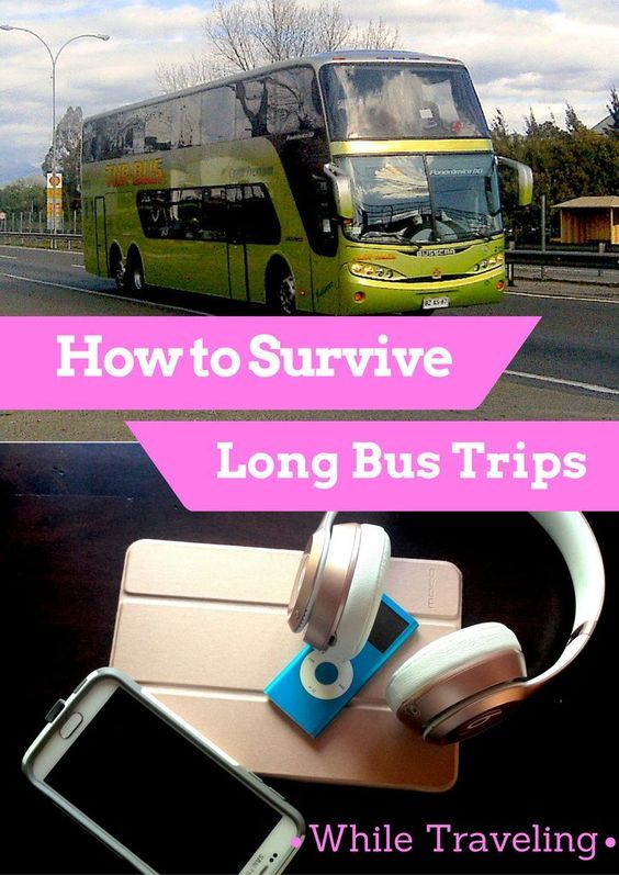 Long distance bus rides are an integral part of travelling, especially for those on a budget. Here are some ways to survive your long bus travel.