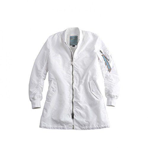Alpha Industries Jacke Oxygen II, Color:white