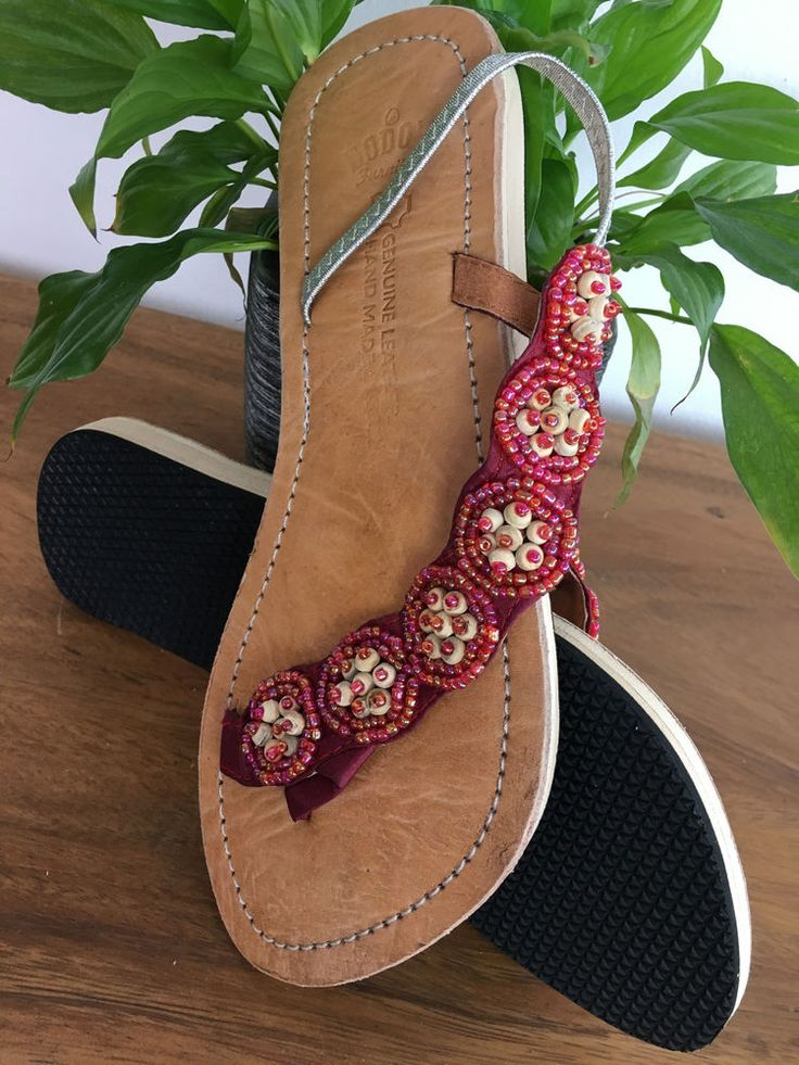 Innenmaterial: Leder. Absatzform: Flach. Materialzusammensetzung: 40% Leder, 60% Kautschuk. Obermaterial: Textil mit Besatz. | eBay!