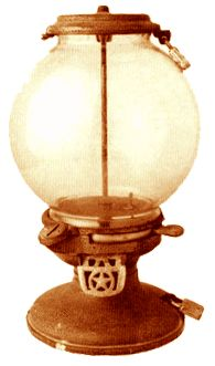 Gumball machine from the early 1900s