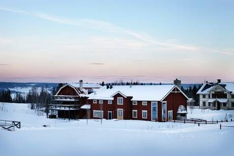 Faviken B&B in Sweden. 19th Best Restaurant in the World. Experience a 20-30 course menu in a 2 1/2 hour timeframe