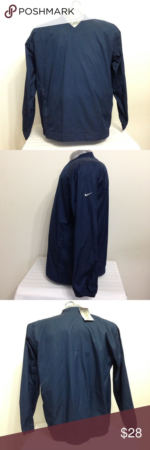✔️Nike golf CLIMA FIT Windbreaker Jacket Navy Blue ✔️Nike golf CLIMA FIT Men's Windbreaker Jacket Navy Blue. New With Tags Size XL. Made in Vietnam. Keep protected: CLIMA-FIT fabric blocks wind and resists rain. The fabric has spaces too small for water droplets to get in, yet is extremely breathable, allowing excess perspiration and body heat to escape. It has two side pockets with zipper. Nike Jackets & Coats Windbreakers