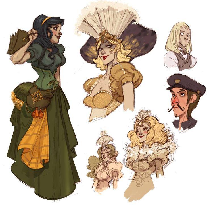 Steam girls by Sally-Avernier.deviantart.com on @deviantART