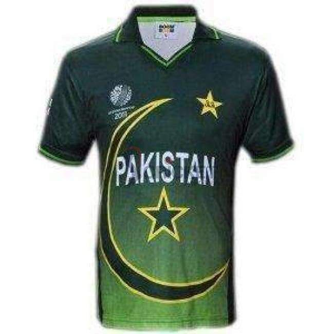 Pakistan Cricket Team 2011 World Cup Cricket Shirt Pakistan Cricket Team Cricket Teams Cricket Store