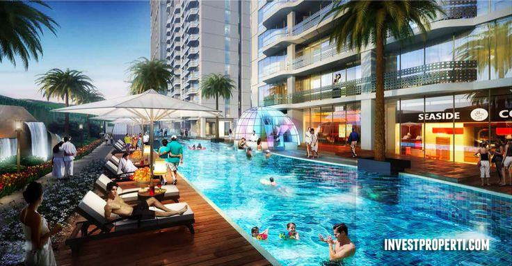 Saffron Sentul City Apartment Swimming Pool.