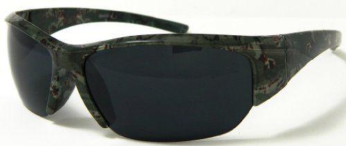 Big Buck IWear Hunting Green Camouflage Smoke Semi-rimless Len's Sunglasses A1 Wholesale LOCS DG XLOOP CHOPPERS. $4.99
