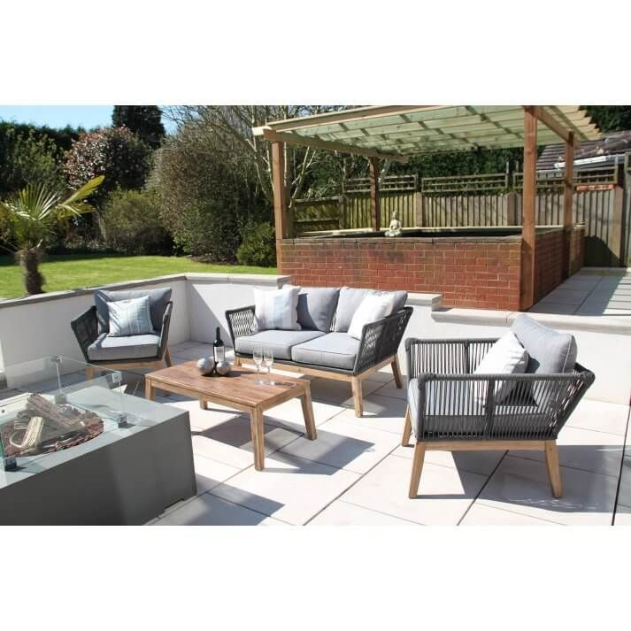 Rope Garden Furniture 579 Garden Sofa Set Garden Sofa