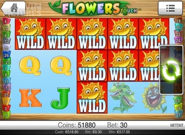 BIG WIN on Netent's Flowers slot!