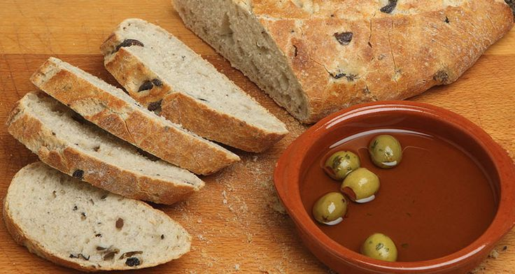 Olive Bread Dough Recipe
