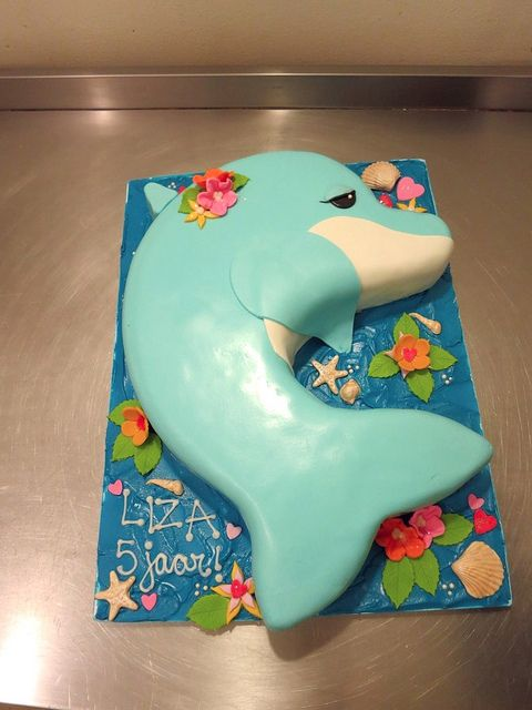 Dolphin Cake by CAKE Amsterdam - Cakes by ZOBOT, via Flickr