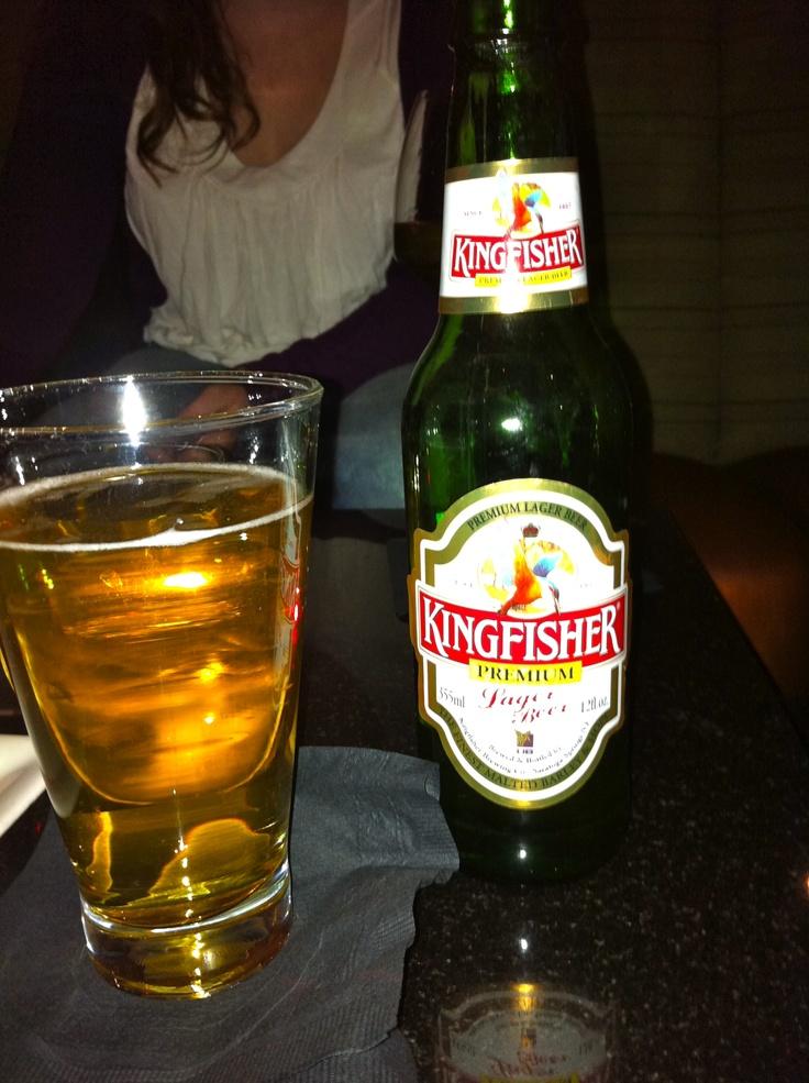 Kingfisher beer Favorite Drinks Pinterest