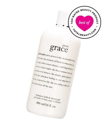 "Best Body Wash No. 15: Philosophy Pure Grace Shampoo, Shower Gel & Bubble Bath, $25  TotalBeauty.com average member rating: *9.1  Why it's great: ""This is really creamy,"" says one reviewer. ""It suds up well, and smells really good."" Another adds, ""It smells clean and crisp, and a little goes a long way to create a luxurious foaming experience in the shower."" Overall, they agree that they ""love, love, love this product."""