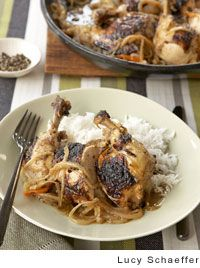 Senegalese-Style Grilled Chicken with Lemon and Onions from Leite's Culinaria