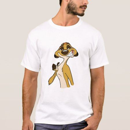 Timon Stands Proud Disney T-Shirt - tap, personalize, buy right now!